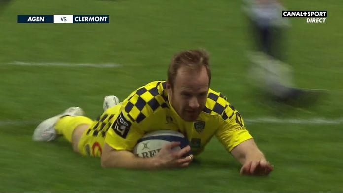 Le résumé Jour De Rugby d'Agen / Clermont : TOP 14