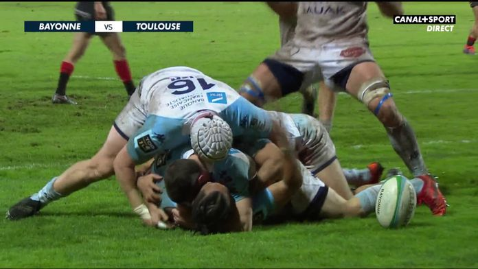 Le résumé Jour De Rugby de Bayonne / Toulouse : TOP 14