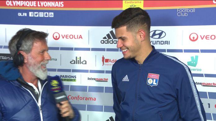 Bruno Guimarães élu homme du match pour son premier derby : Lyon / Saint-Étienne