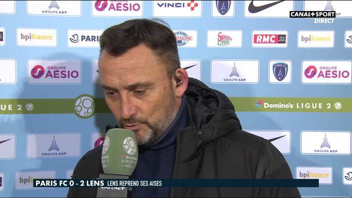 Paris FC / Lens : La réaction de Franck Haise après son premier match avec Lens : Late Football Club