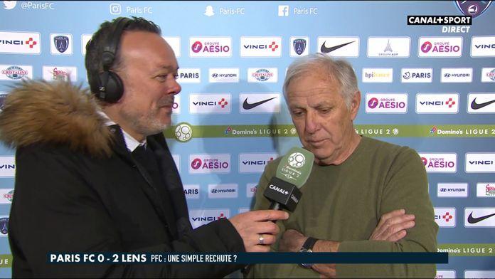 Paris FC / Lens : René Girard réagit à la défaite parisienne : Late Football Club