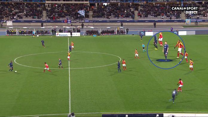 Paris FC / Lens : Le geste incompréhensible de Jérémy Ménez : Late Football Club