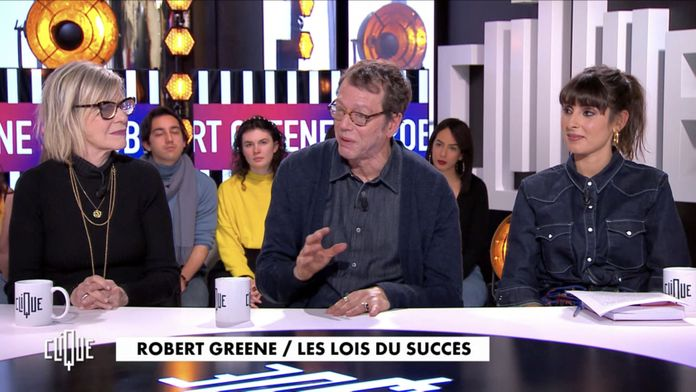 Clique avec Robert Greene, Pélénope Bagieu et Chantal Ladesou