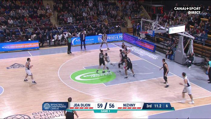 La JDA Dijon se donne de l'air avec cette superbe séquence : Basketball Champions League