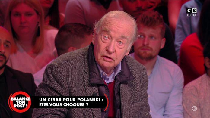 """Michel Ciment, critique de cinéma : """"Polanski est le plus grand cinéaste Français vivant"""""""