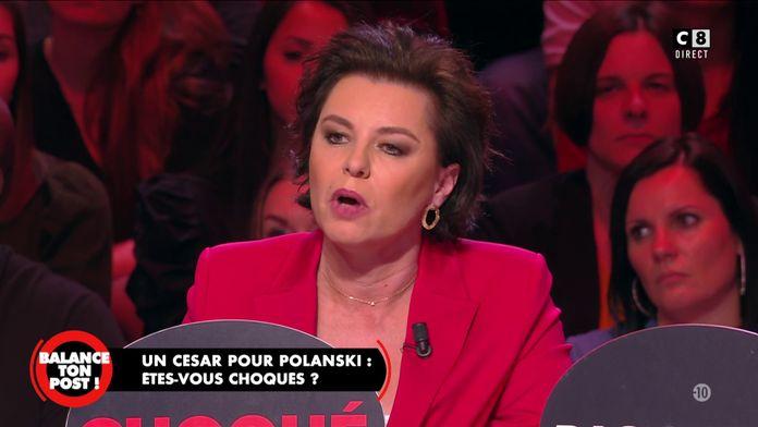 """Laurence Sailliet : """"Le prix à Roman Polanski est une gifle à toutes les femmes qui ont souffert !"""""""
