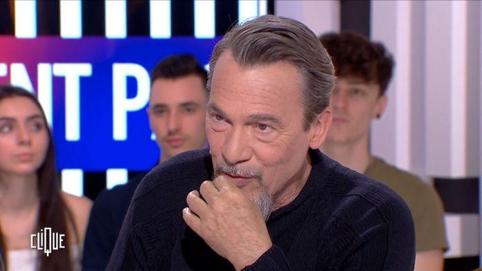 Clique avec Florent Pagny  et Uèle Lamore