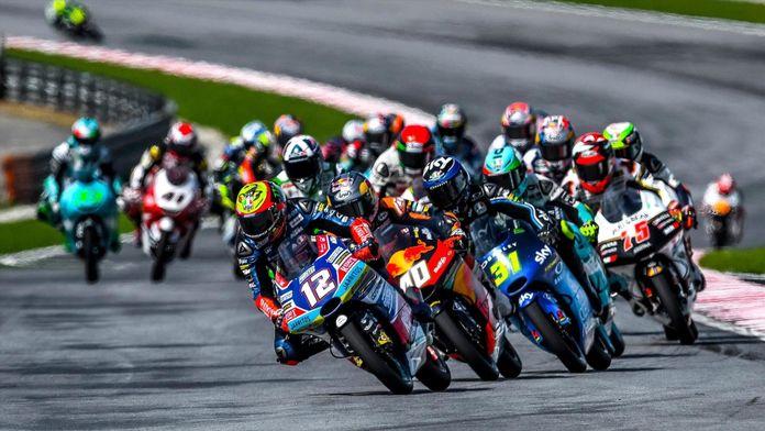 La course des Moto 3
