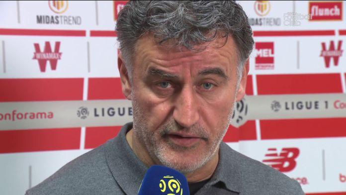 """Christophe Galtier : """"J'ai aimé le comportement de mon équipe"""" : LOSC / OL"""
