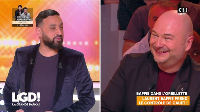 Laurent Baffie prend le contrôle de Cauet