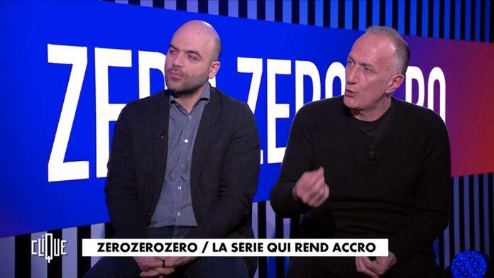 Clique avec Roberto Saviano, Stefano Sollima,  Joey Starr, Jérôme Pierrat et Marie-Agnès Chauvin.