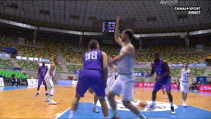 Quel sublime échange dans la peinture de Burgos : Basketball Champions League