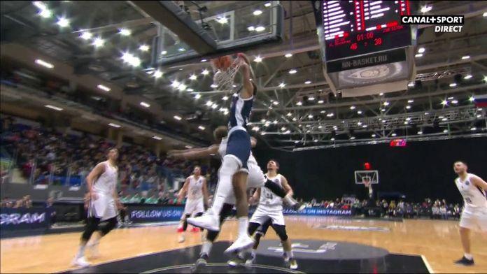 Dijon enchaîne les alley-oops : Basketball Champions League