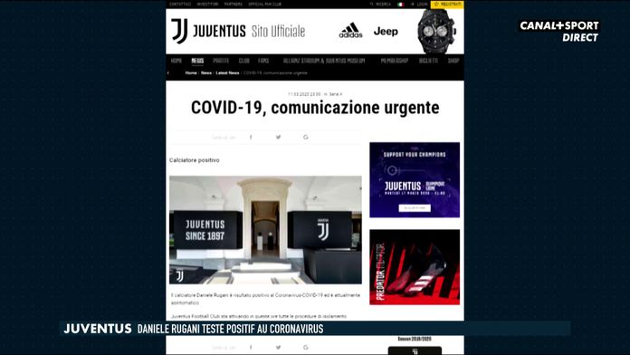 La Juventus Turin et l'Inter Milan en quarantaine : Late Football Club