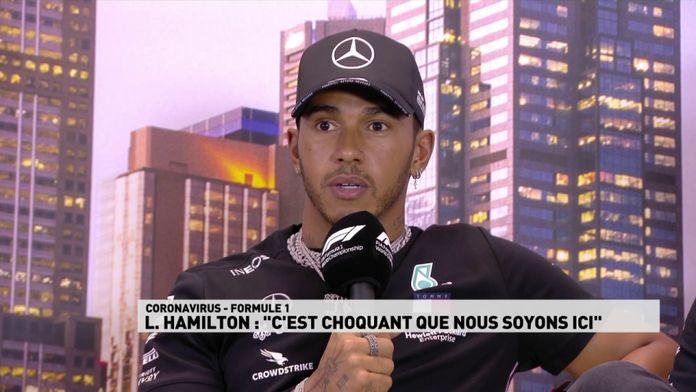 """Hamilton : """"C'est choquant que nous soyons ici"""" : Grand prix d'Australie"""