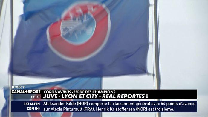 Juve-Lyon et City-Real reportés !