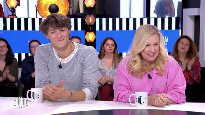 Clique avec Hélène Darroze , Hugo Marchand et Benoit Bruel
