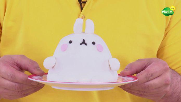 Le gâteau Molang