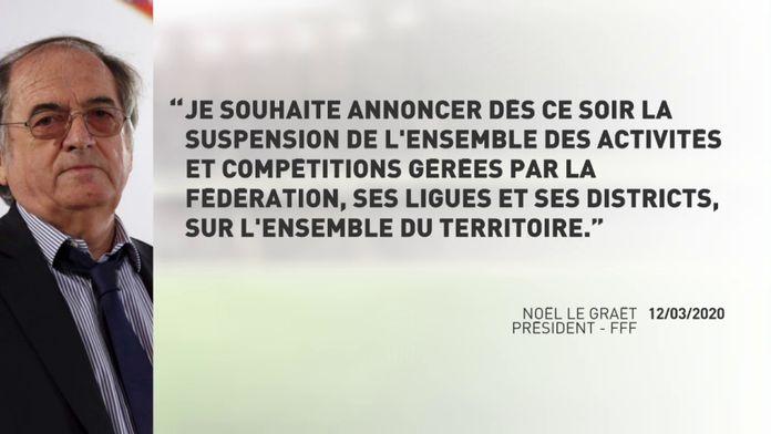 Coronavirus : Ligue 1 et Ligue 2 suspendues, les compétitions européennes reportées : Football