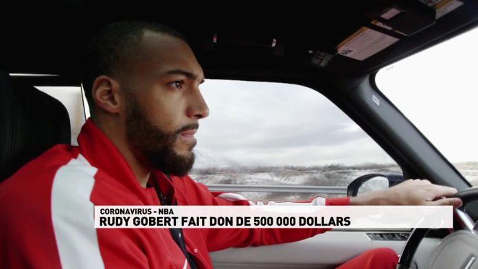 Rudy Gobert fait un don de 500 000 dollars : NBA