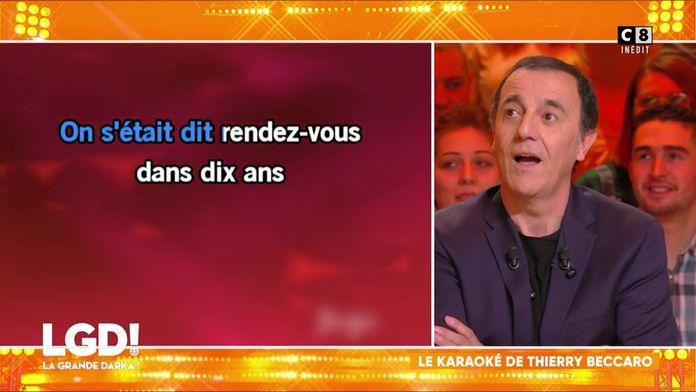 Le karaoké de Thierry Beccaro, le roi du micro !