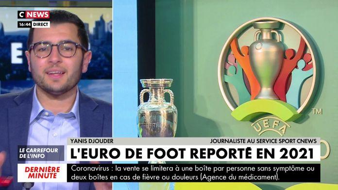 L'EURO de foot reporté : UEFA