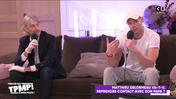 Matthieu Delormeau va-t-il se réconcilier avec son papa ?