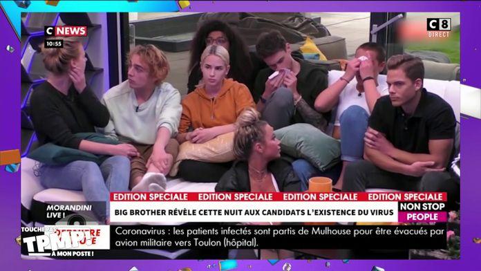 """""""Big Brother"""" en Allemagne révèle en direct la pandémie à ses candidats"""