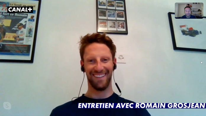 Entretien avec Romain Grosjean : Le meilleur de la Formule 1, seulement sur Canal+