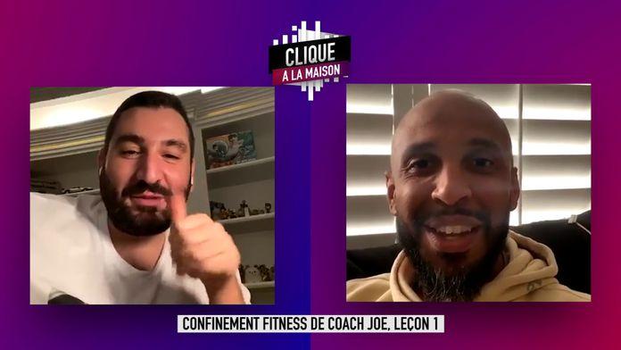 Confinement fitness de Coach Joe, leçon 1