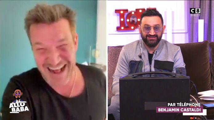 Benjamin Castaldi en FaceTime avec Baba donne de ses nouvelles !