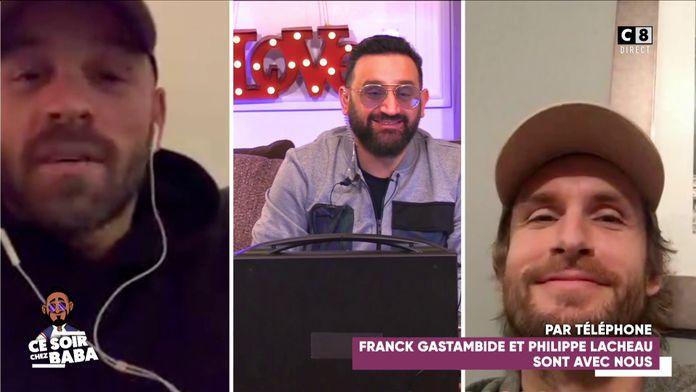 Franck Gastambide et Philippe Lacheau en FaceTime avec Cyril Hanouna !