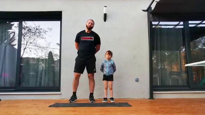 Entretien Physique à la maison : GOLF+ le mag confiné