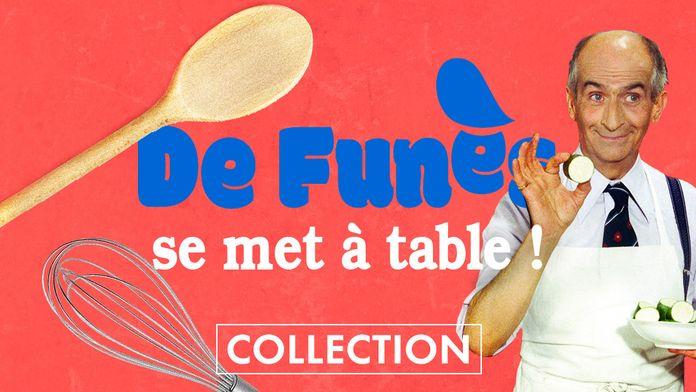 De Funès se met à  table