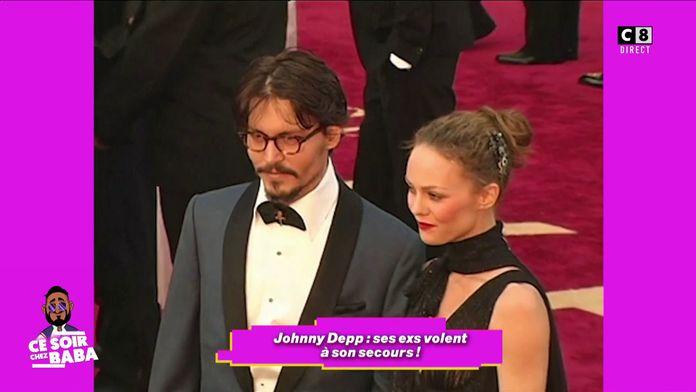 Les ex de Johnny Depp viennent lui apporter son aide pour démentir les violences conjugales