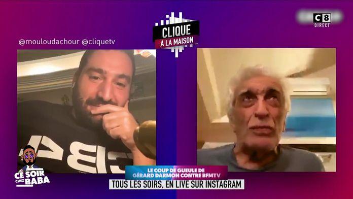 """Le coup de gueule de Gérard Darmon contre BFM TV : """"Je refuse qu'on nous prenne pour des imbéciles"""""""