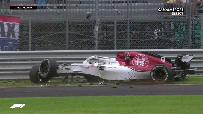 Marcus Ericsson miraculé : Souvenir Formule 1