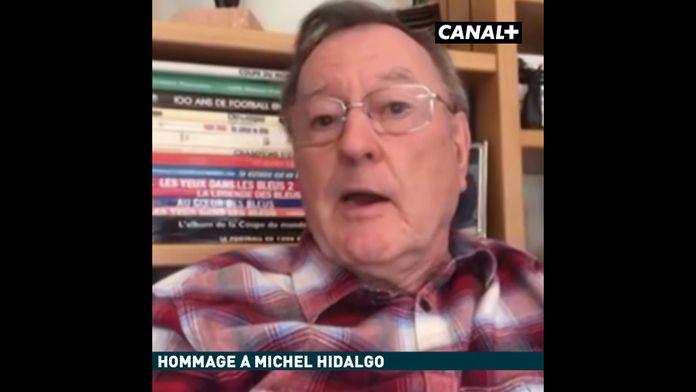 Philippe Tournon rend hommage à Michel Hidalgo : Football