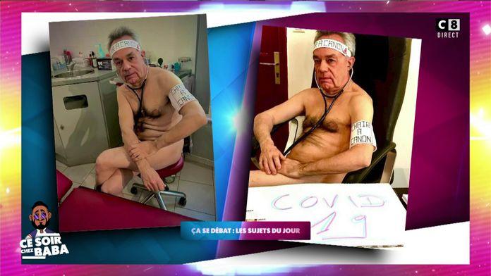 Un médecin généraliste pose nu pour dénoncer le manque de moyens pour le corps médical
