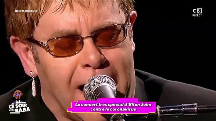 Le concert très spécial d'Elton John contre le coronavirus
