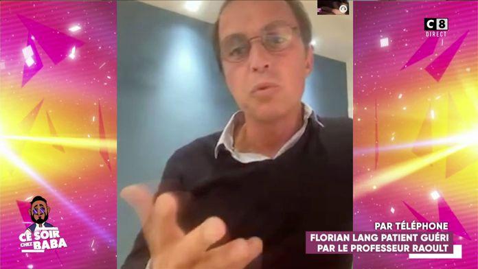 """Le témoignage de Florian Lang guéri avec la chloroquine : """"Le traitement m'a permis de rebondir"""""""