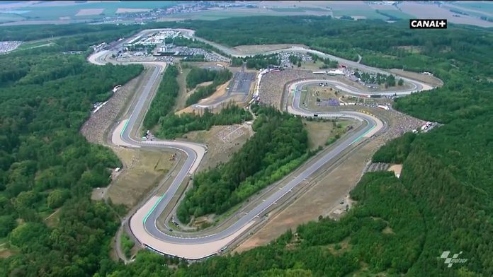 Brno circuit historique : Rétro MotoGP