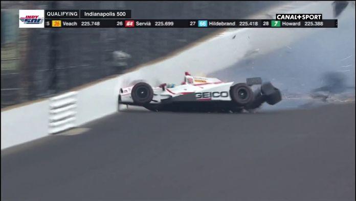 L'incroyable crash de Sébastien Bourdais ! : Rétro Indycar