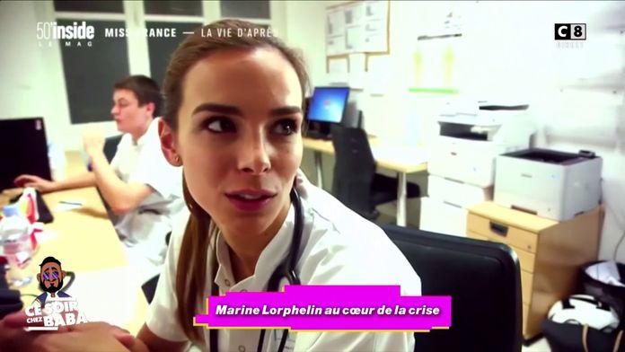 Marine Lorphelin au cœur de la crise du coronavirus