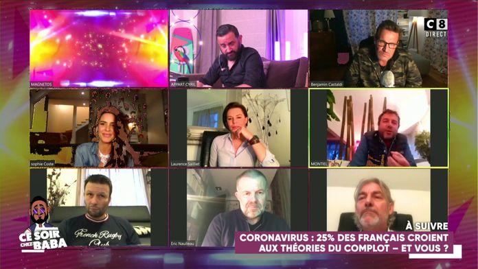 Les peoples confinés à la campagne : Bernard Montiel attaqué sur les réseaux sociaux, il s'explique