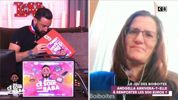 Le jeu des boiboites avec Angela ! Remportera-t-elle la boîte à 5000 euros ?