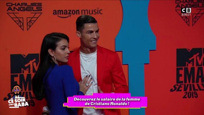 Cristiano Ronaldo verse un salaire de 80 000 dollars par mois à sa compagne !