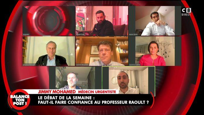 Jimmy Mohamed donne son point de vue sur le Professeur Didier Raoult