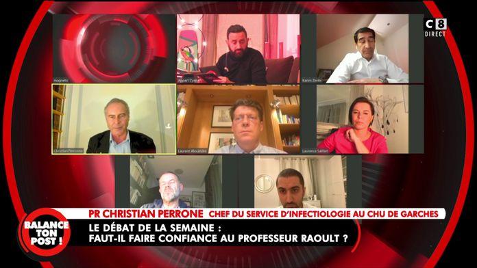 """Christian Perrone, chef du service d'infectiologie au CHU de Garches : """"La chloroquine marche !"""""""