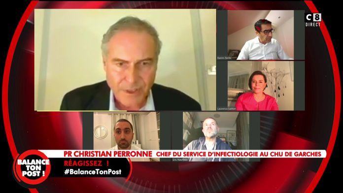 """Le coup de gueule du Professeur Christian Perrone contre le gouvernement : """"Je suis choqué !"""""""